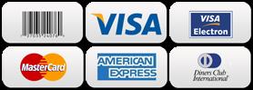 Pagamentos de serviços de traduções e eventos através de cartões de crédito via Pagseguro