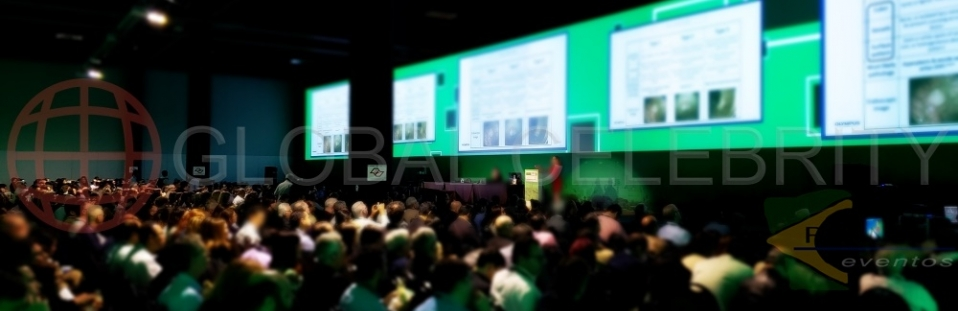 Traduções simultânea para 7.204 congressistas, 34 países com 617 palestrantes nacionais e 118 internacionais.